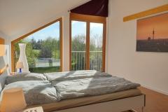 Apartment B - Schlafzimmer 1 / Bedroom 1