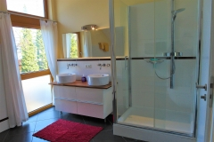 Apartment B - Badezimmer 1 Badewanne, Dusche & WC / Bathroom 1 Bathtub, Shower & Toilet