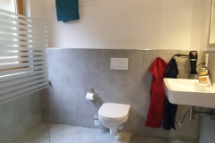 Apartment A - Badezimmer mit Dusche & WC (erneuert 2021)/ Bathroom with XXL Shower & toilet (renewed 2021)