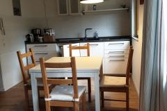 Apartment A - Wohn-Ess-Küchenbereich / Kitchen-Dining-Living