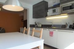 Apartment C - Ess-Küchen-Wohnbereich / Dining Kitchen Living Area